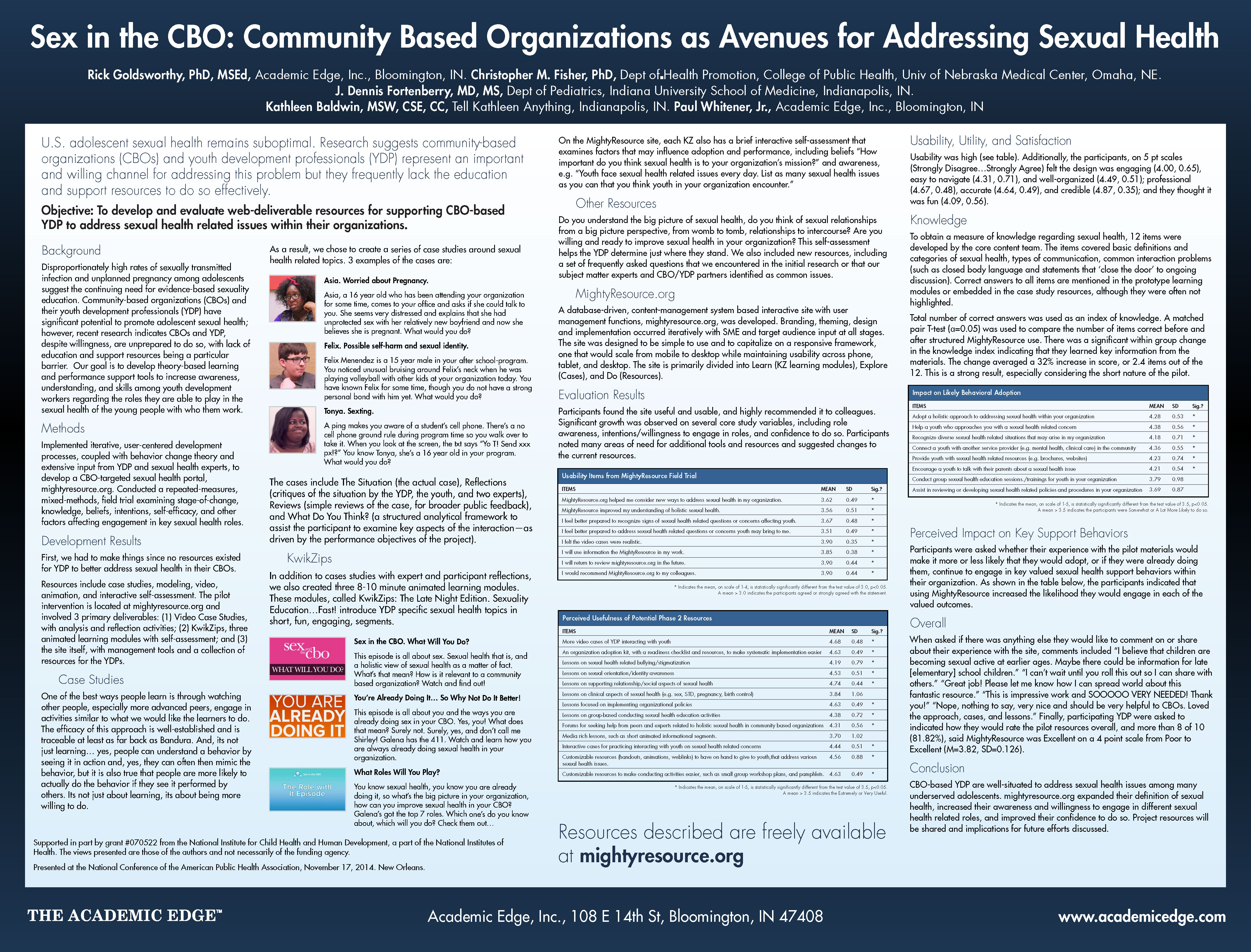 APHA 2014 Sex in CBO poster 141113 handoout
