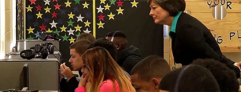 florida reading teacher of year uses reading plus kentucky teacher next?