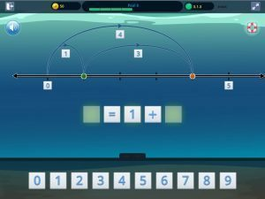 Symphony Math Number Line Add